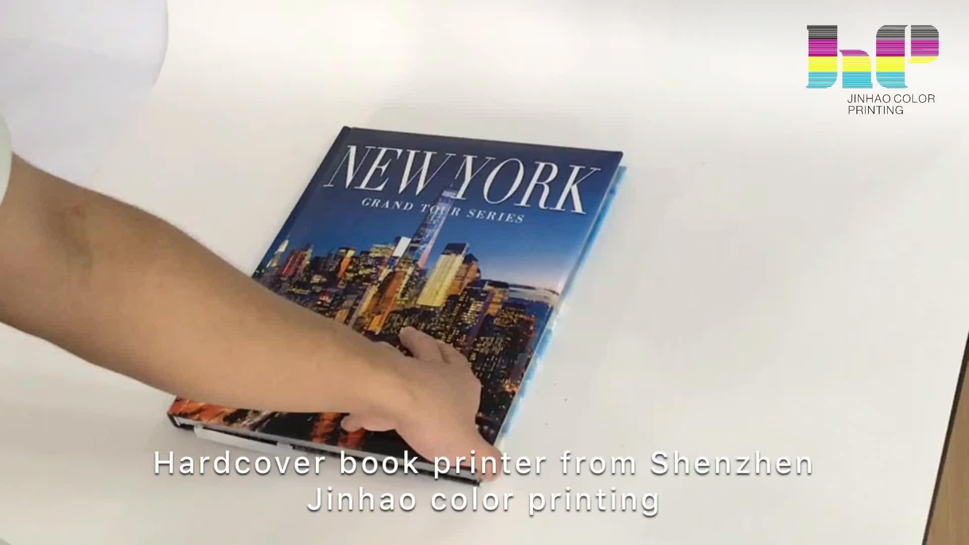 ด้านคุณภาพปกหนังสือโต๊ะกาแฟเครื่องพิมพ์หนังสือปกแข็ง