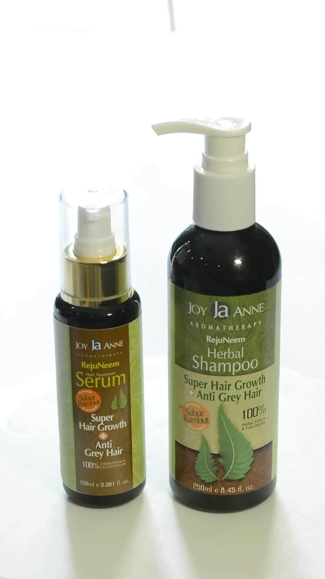 头发生长和防灰头发草本洗发水