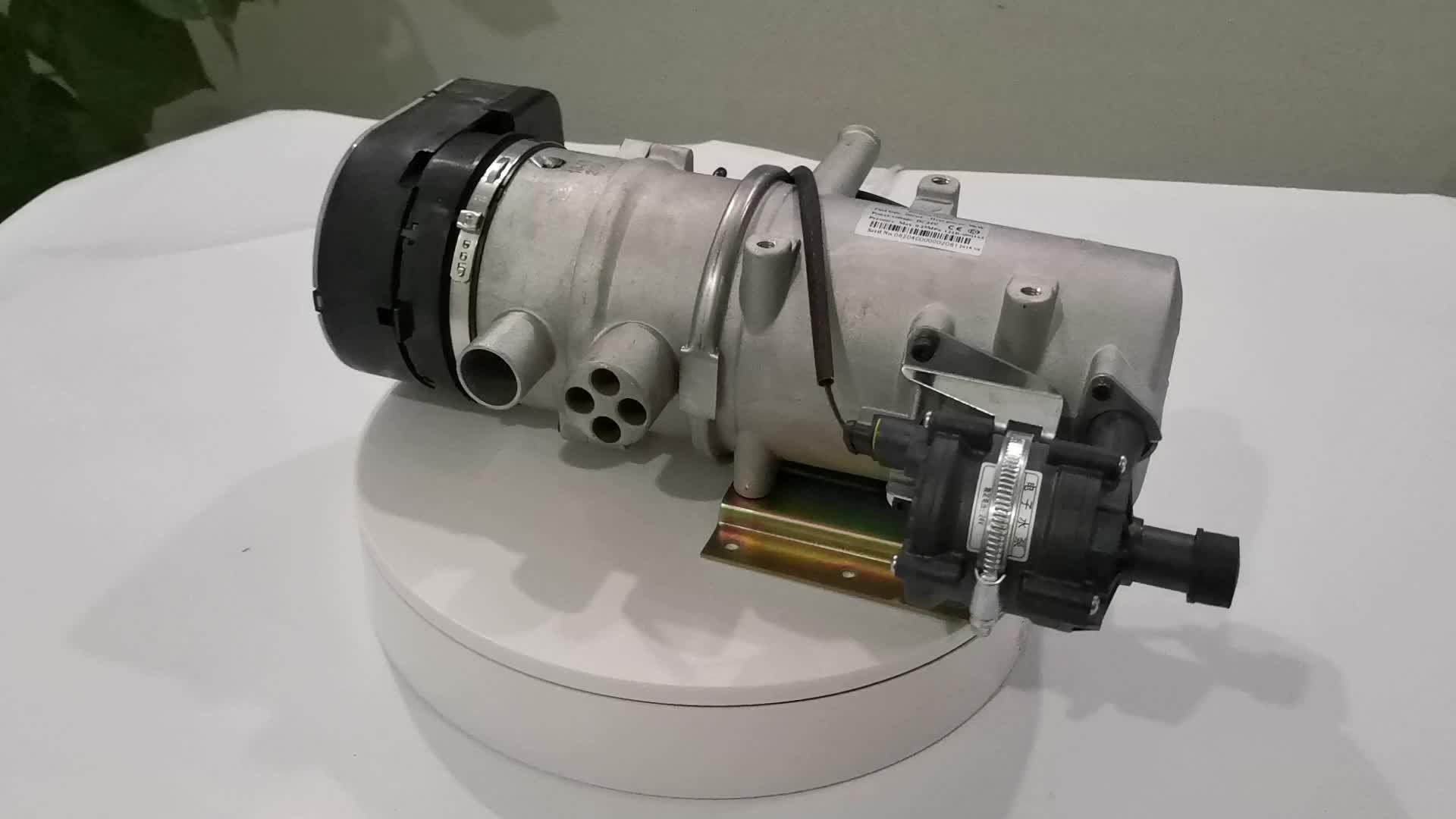 JP tương tự như Webasto 9kw 12v 24v diesel xe nước động cơ nóng cho camper xe tải van