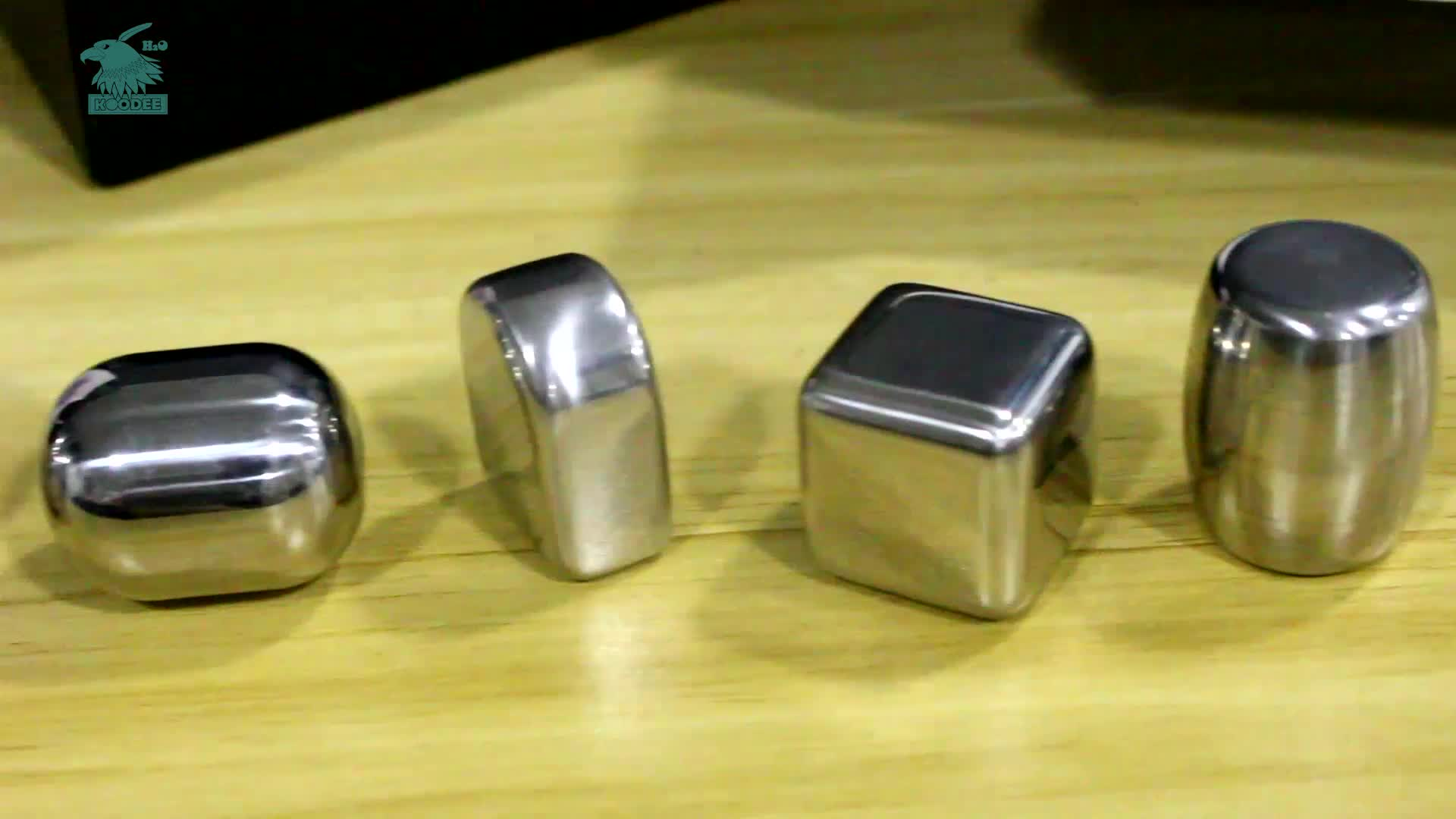 Wholesale Stainless Steel Whiskey Stones Bar Accessories Wine Steel Ice Cube