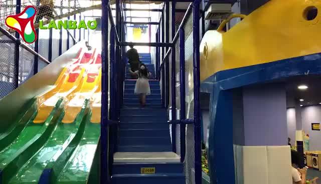 Formato su misura Grande Parco A Tema Per Bambini Parco Giochi Al Coperto Piscina di Palline