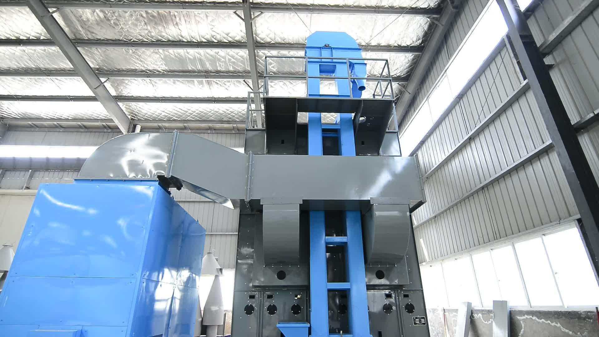 Graindrying plant tower grain dryer with graindrying machine