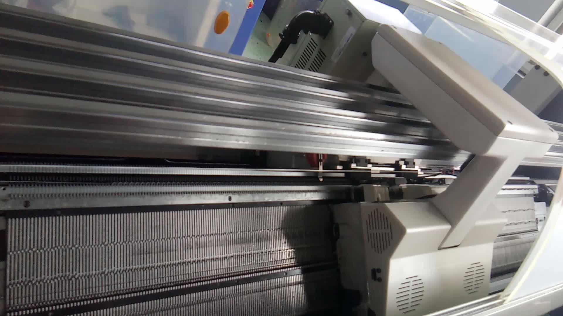 יצרן במפעל מחיר משמש סטול שטוח סריגה מכונה