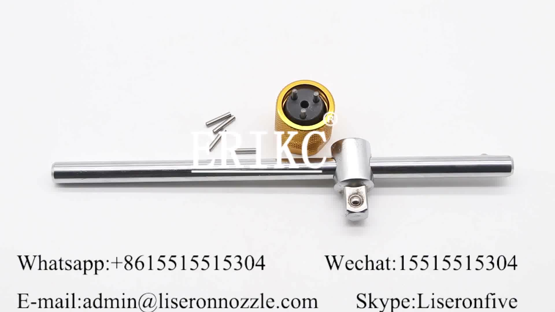 E1024010 Denso Three-Jaw Spanners for injector,ERIKC Remove Denso Valve , Disassemble Denso Injector Valve Orifice Plate