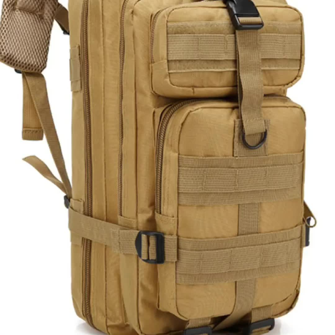 Outdoor Military Backpack Army Molle Bug out Bag Rucksack Backpack Sport Travel Hiking Camping Daypack