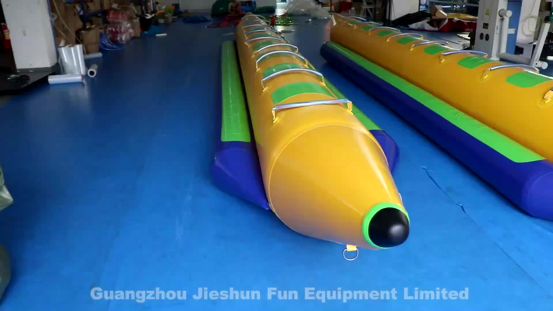 8 Person Water Inflatable Banana Boat PVC Inflatable Boat for Adult