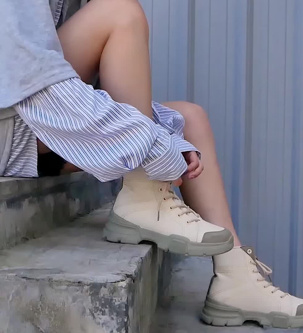 New high-end women's casual multifunctional platform sneakers for women's fashion shoes in fall 2019