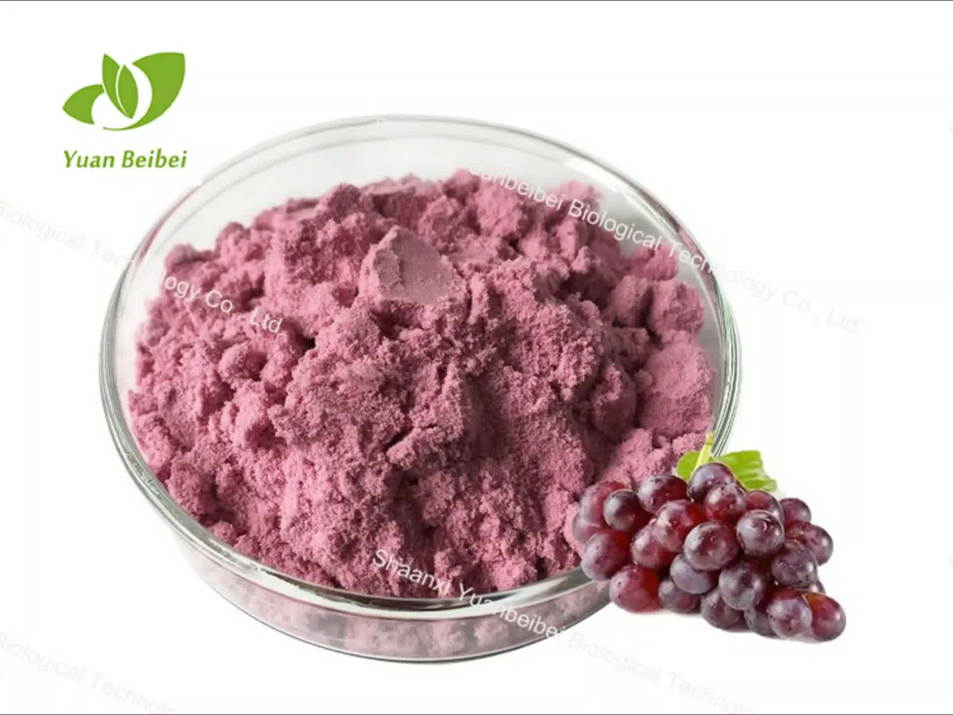Drink powder organic pure 100% grape fruit juice powder extract