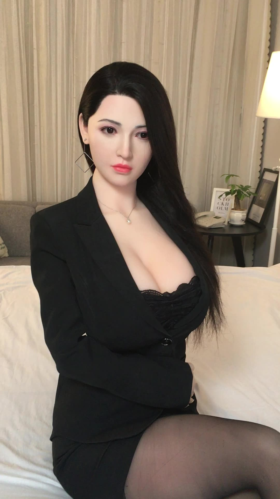 With Intelligent Voice Heating Full Body Real Pussy Male Masturbator Erotic Anal Oral Sextoy