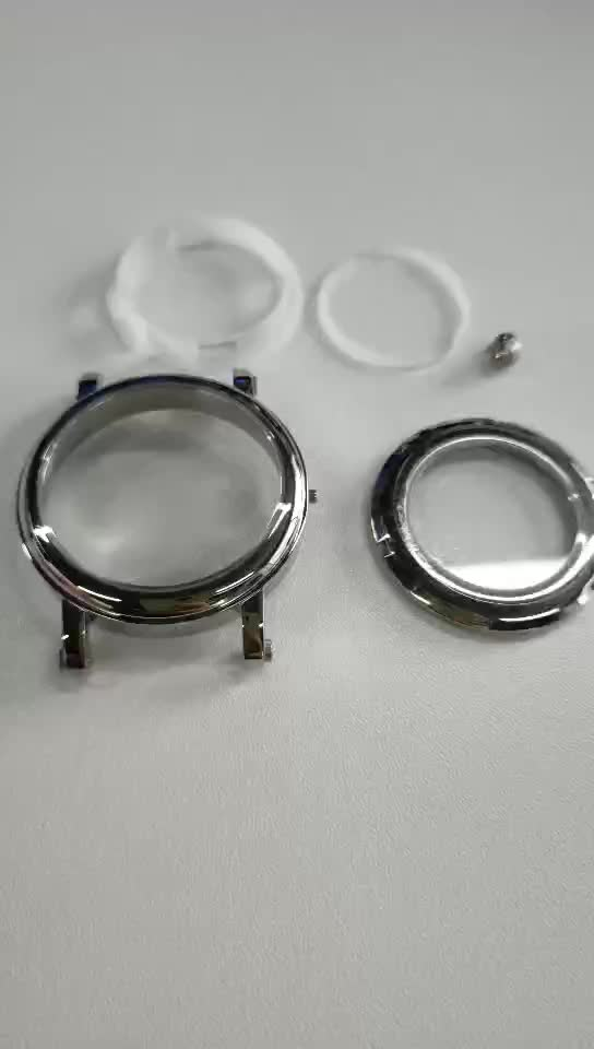 Customized 316L Stainless Steel CNC Machining Watch Case Parts China Watch Manufacturer