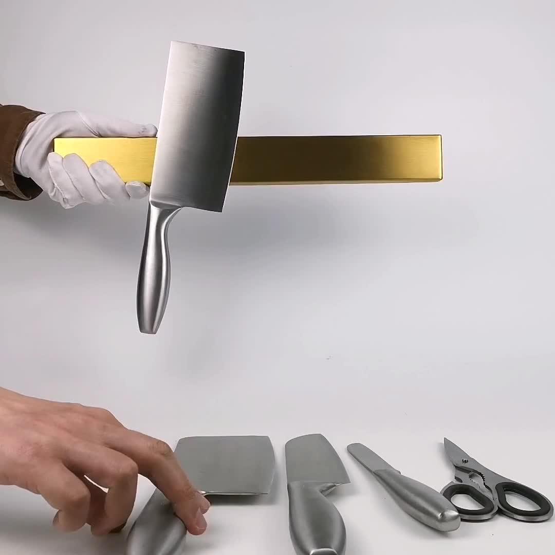 Colorato Titolare di Stoccaggio Da Cucina In Acciaio Inox Coltello Magnetico Striscia
