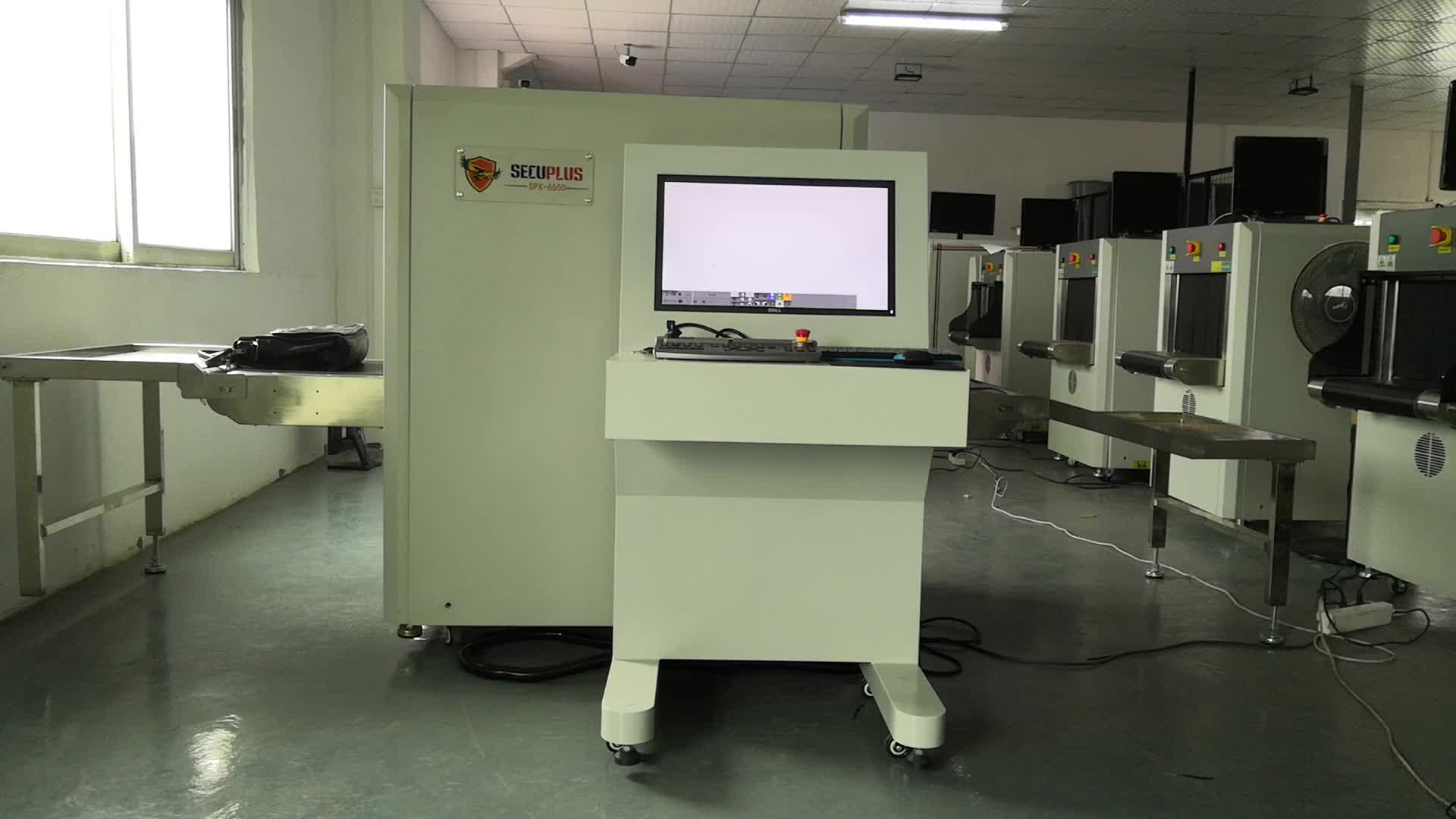 X-ray Máy đối với bưu kiện kiểm tra X ray Máy Quét Hành Lý cho bộ quốc phòng
