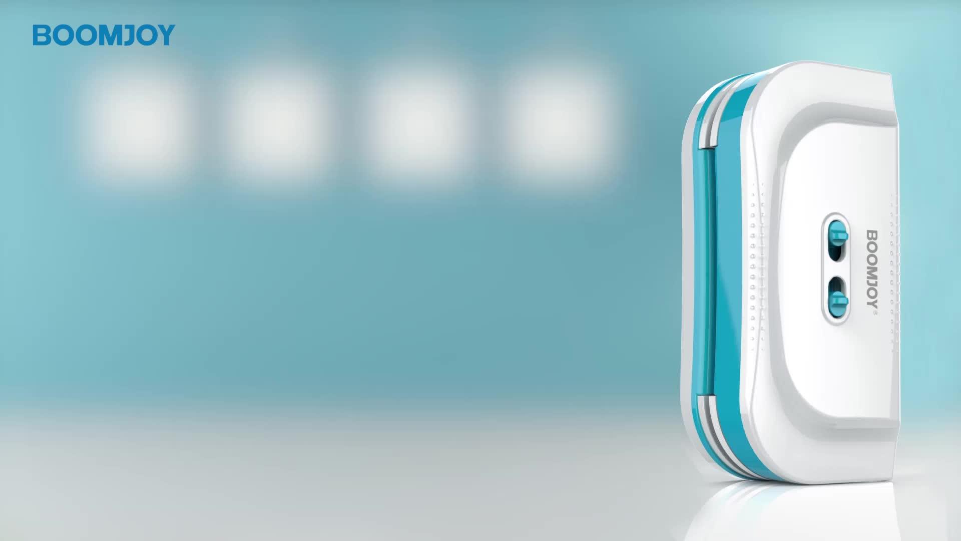 Boomjoy magnetische fenster reiniger rakel magie doppel seiten glas fenster wischer haus reinigung werkzeuge