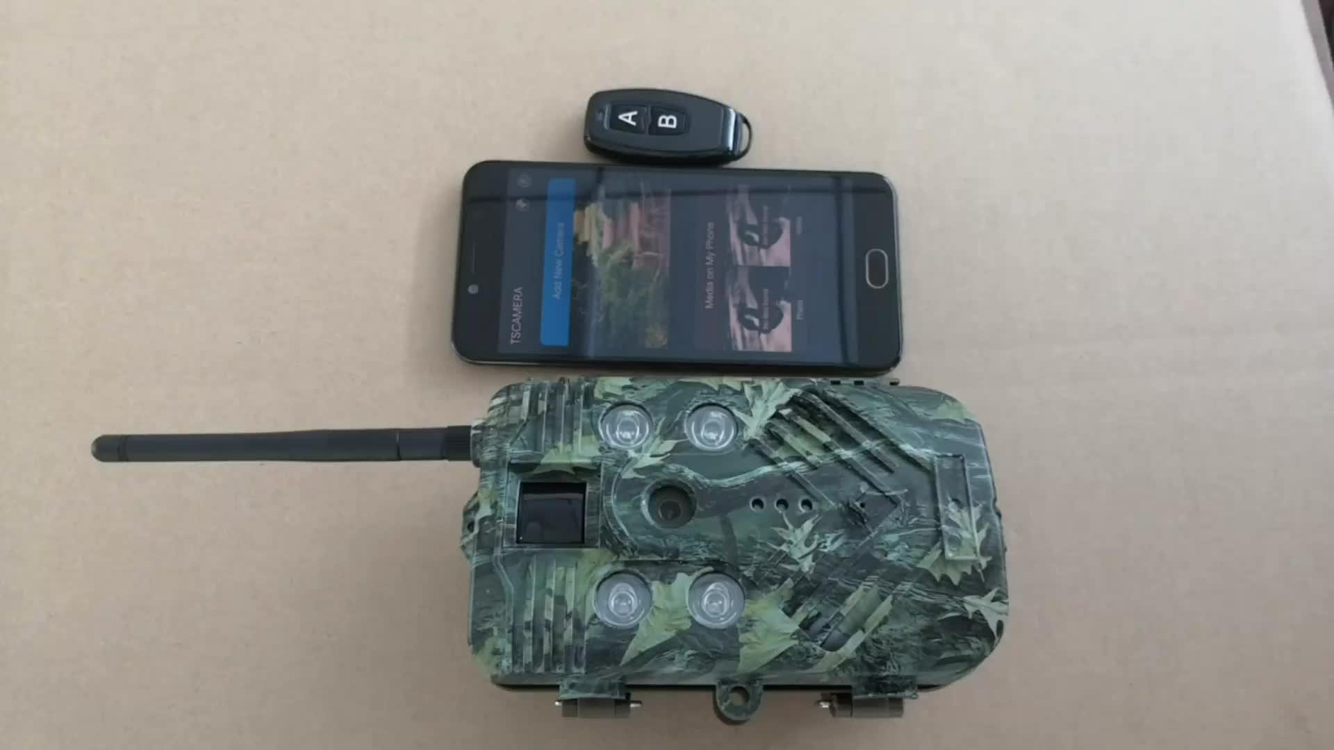 20 MP Invisibled IR Point Chaud WiFi Télécommande Caméra De Piste de Chasse pour la Chasse Au Cerf