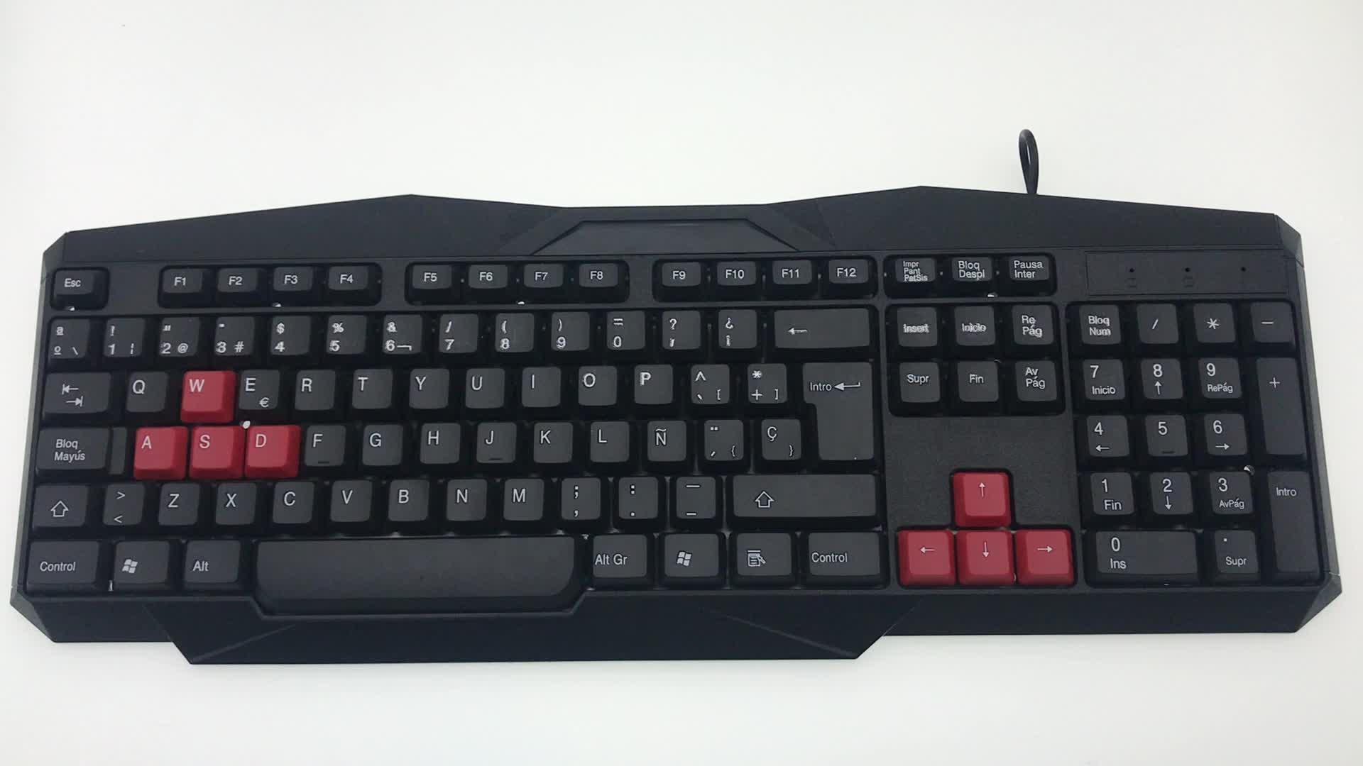 2020 뜨거운 무선 키보드 및 마우스 콤보 게이밍 게이머 데스크탑 컴퓨터 저렴한 공장 가격 2.4G OEM 컬러 키보드 마우스