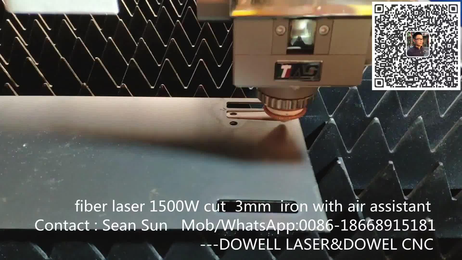 Precitec  cnc 3015 fiber laser cutter steel machine