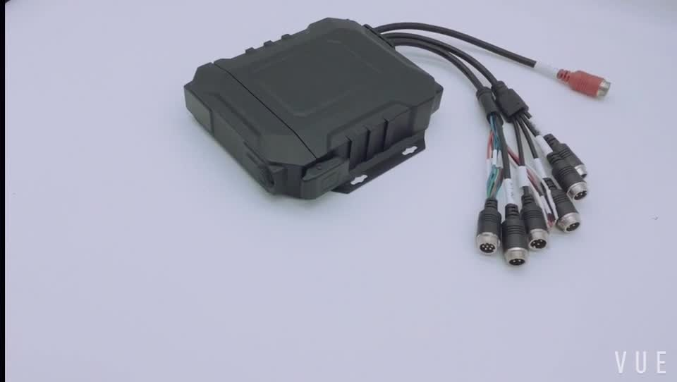 4 CH 720P H.264 GPS for Vehicle AHD MDVR CMS Server