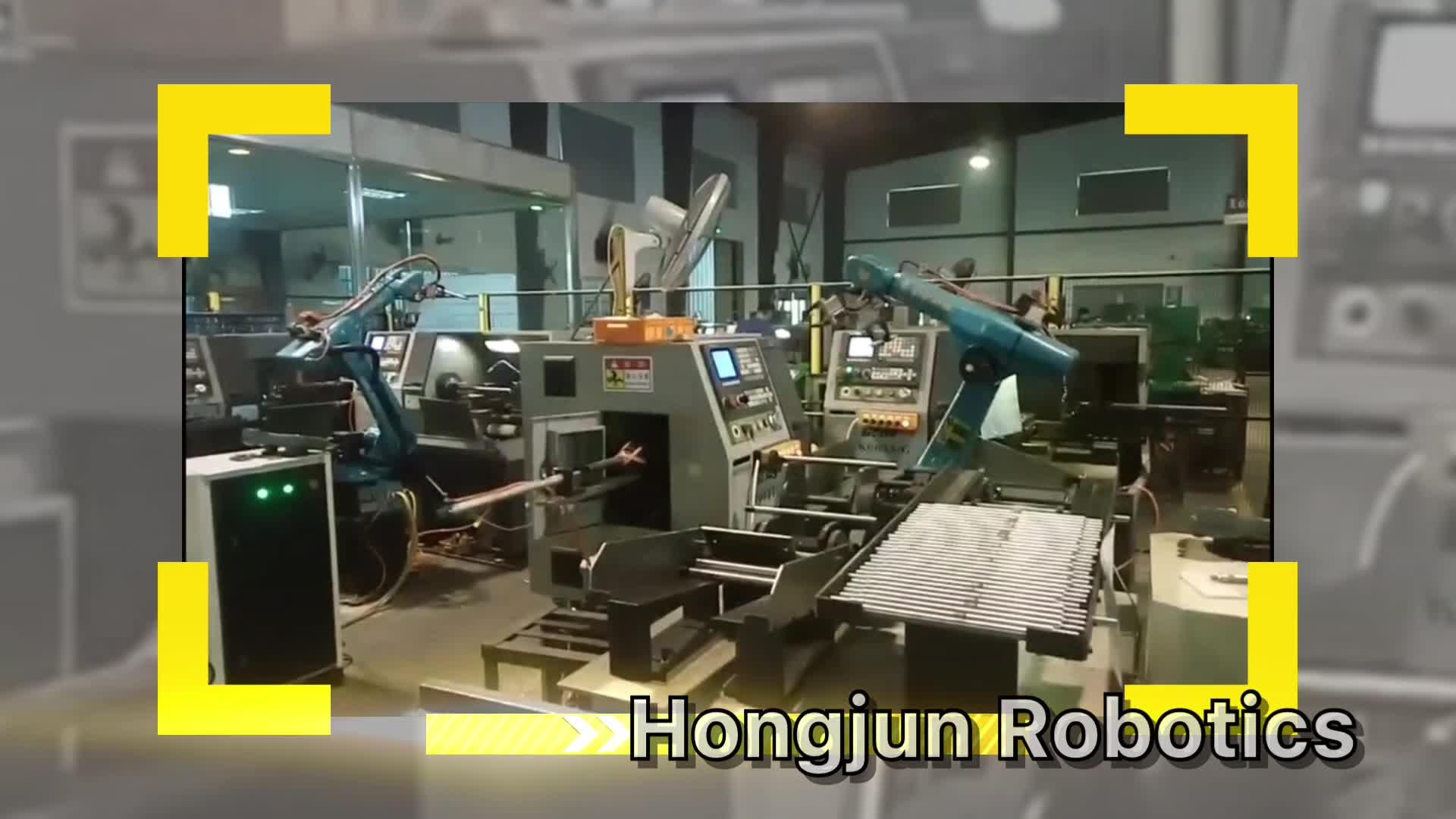 CNC industriale di Saldatura Robot/Braccio Robotico 6 Assi Con Servo Motore