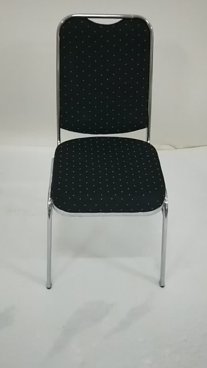 Cheap Chrome Electro Plating Stacking Chair