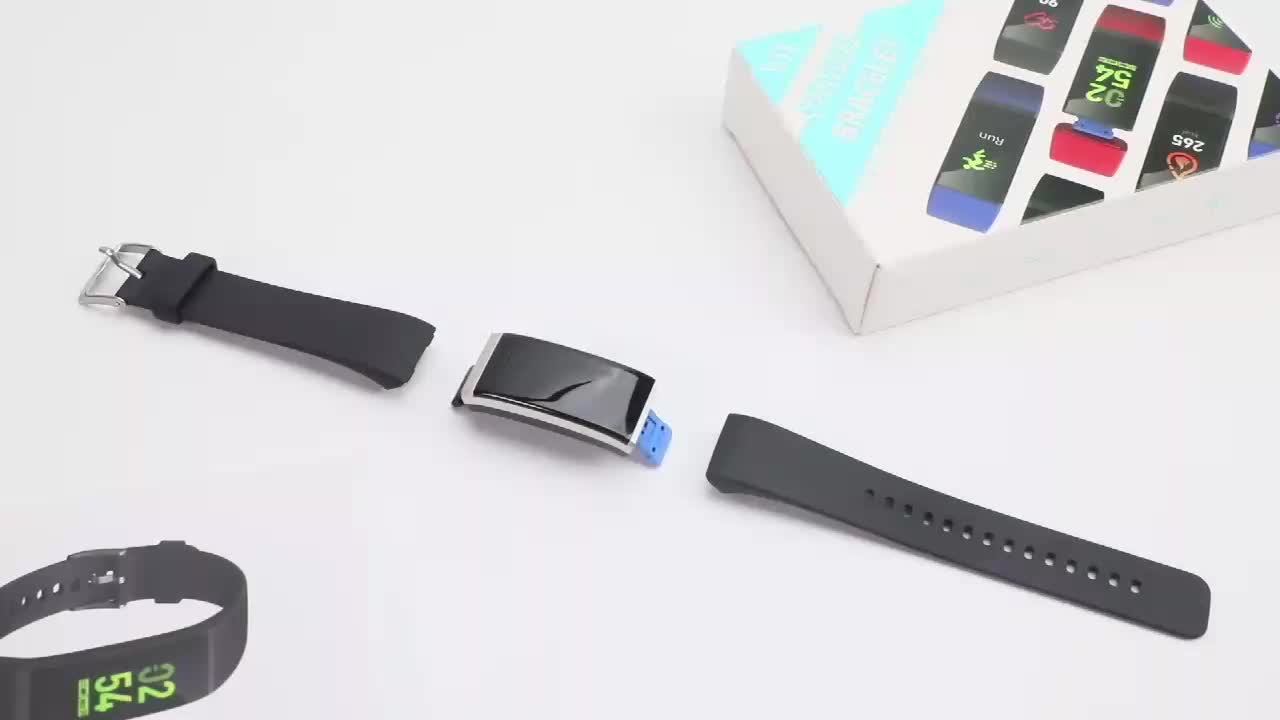 FITUP Colorful USB charging heart rate fit band