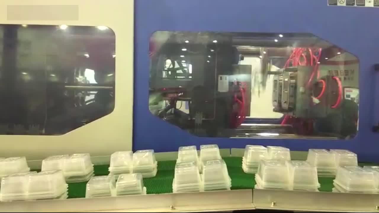 Venta caliente de plástico negro de preparación de la comida contenedores Biodegradable para llevar microondas térmica de plástico PP desechable de contenedor de alimentos