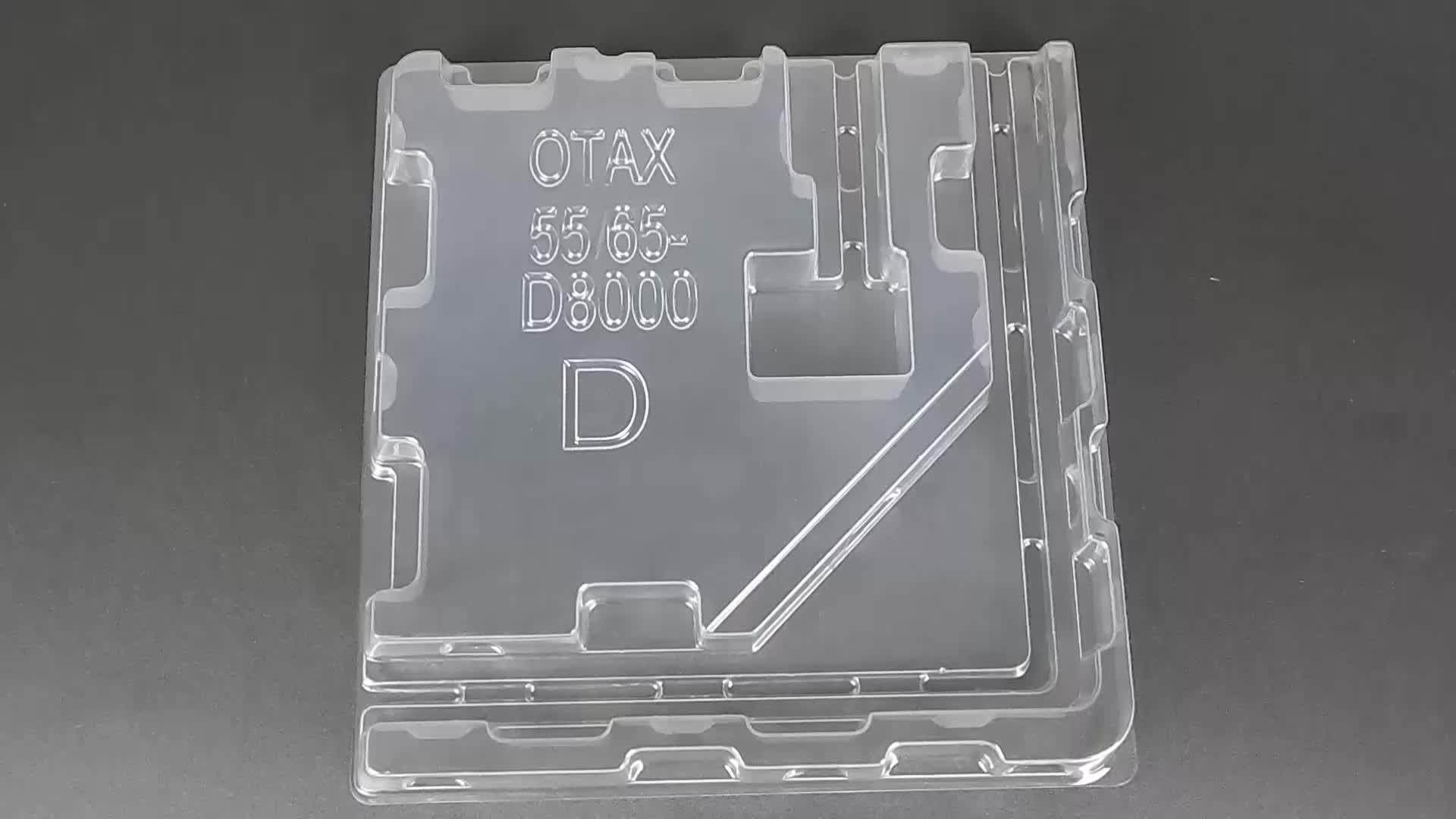 Direct Factory Cost Friendly Vacuum Forming Blister Packaging Plastic Tray