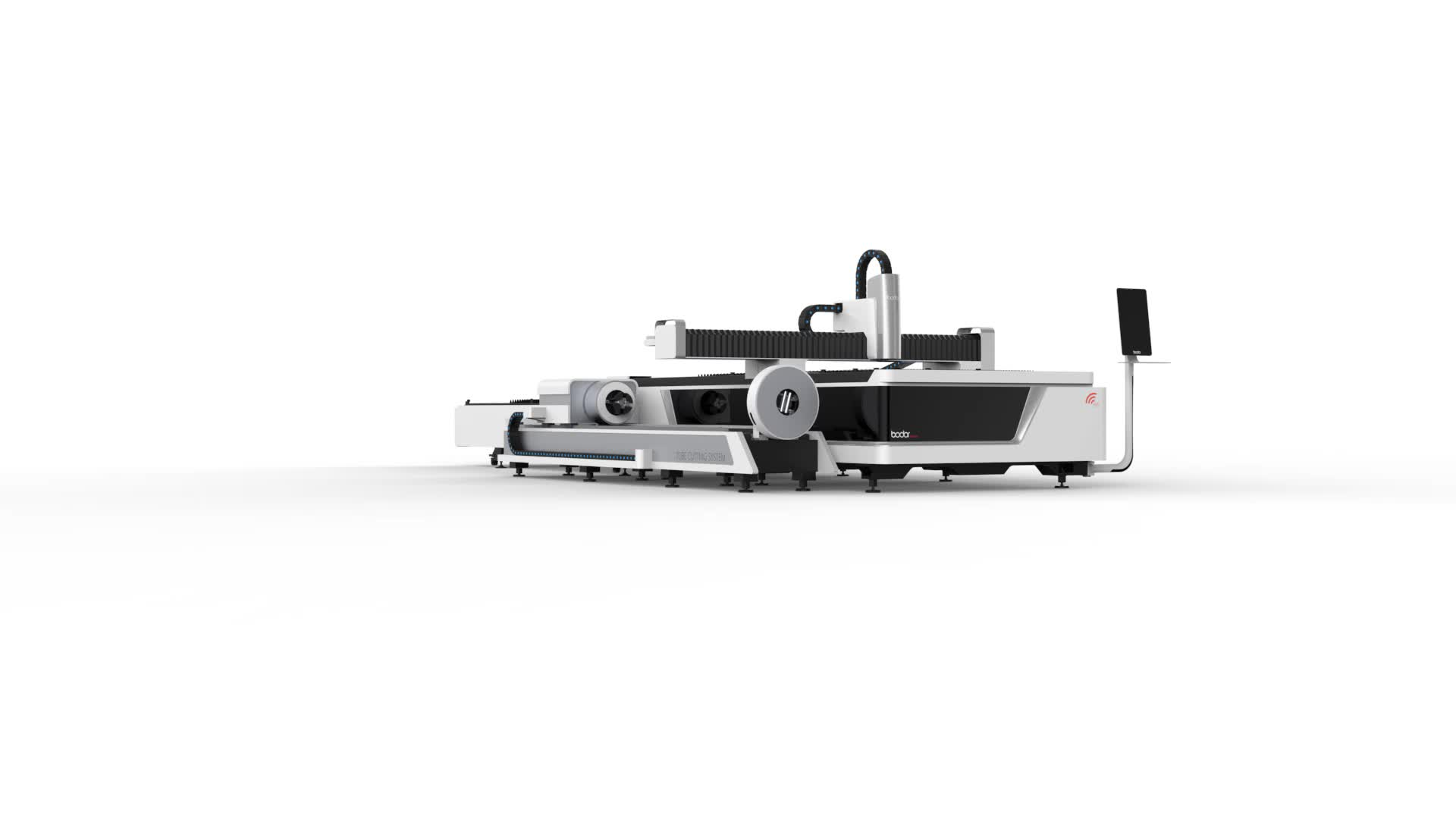Bodor 1000W metal sheet and tube laser cutting machine for stainless steel for sale