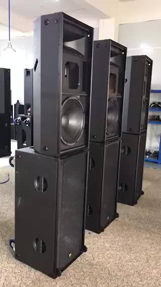 Actieve 15 inch professionele sound speaker outdoor mobiele touring stage performance pa sound system-PRO-315A