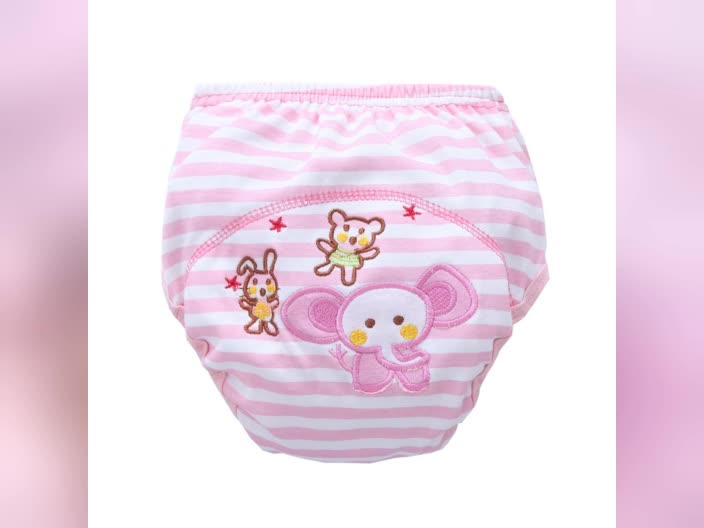 Unisex baby diaper pants mix design training pants lovely breathable soft cute baby training pants