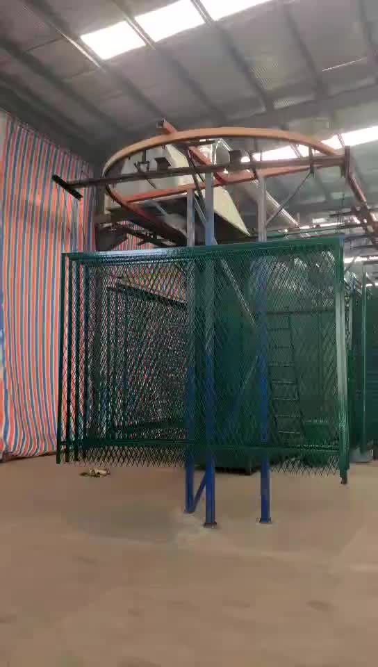 Airport Fence Security Anti-climb barrier Concertina Razor Barbed Wire Fencing airport pvc coated fence