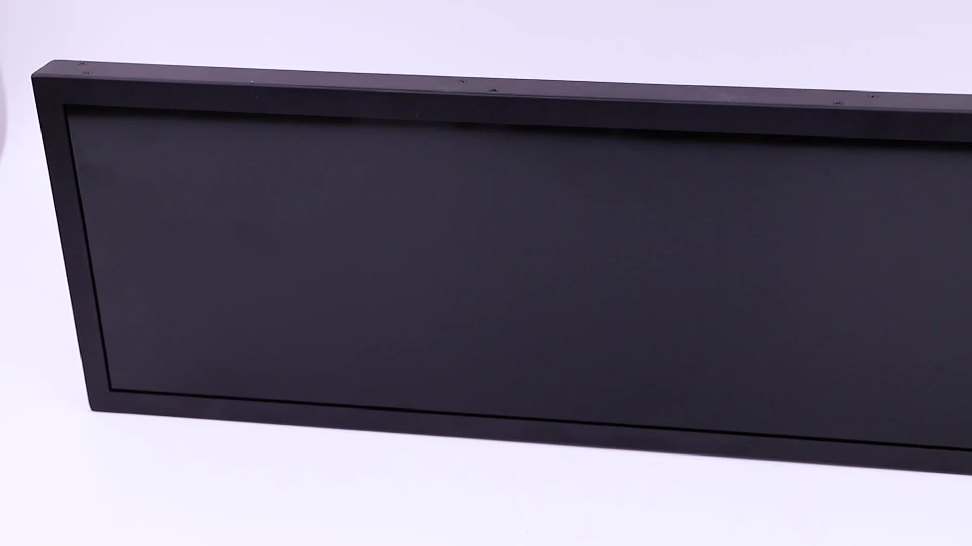 Android OS Bus Wall Mount 29 Inch Passenger TFT LCD Display for Infotainment System