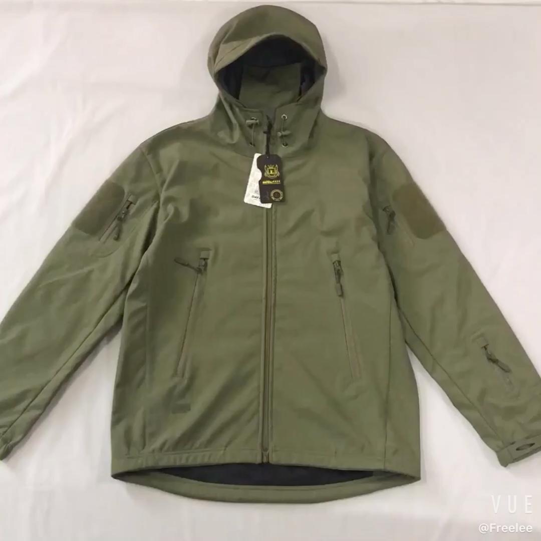 Outdoor TAD Caccia Escursioni impermeabile tattico militare giacca softshell per gli uomini