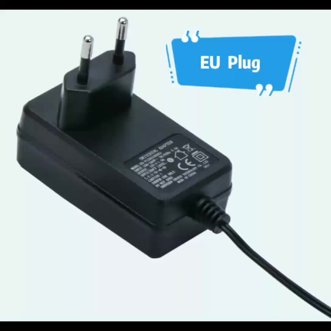 UK US EU AC Wall Plug 5V 6V 9V 12V 15V 16V 18V 19V Switch DC Power adaptor Indoor power adaptore