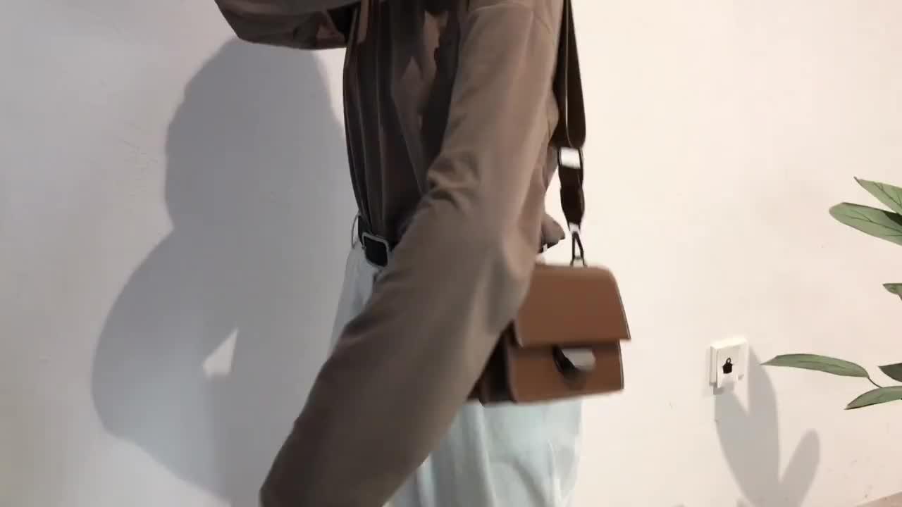 Nova versão Coreana do retro de largura alça de ombro quadrado pequeno saco tendência saco do mensageiro saco de ombro único