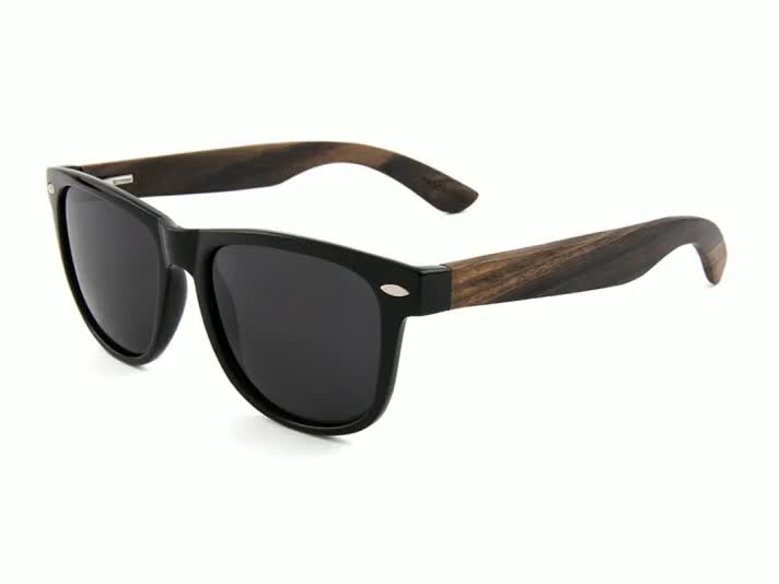 italy design cat.3 uv400 sunglasses 2018 wood legs plastic clear frame sunglasses
