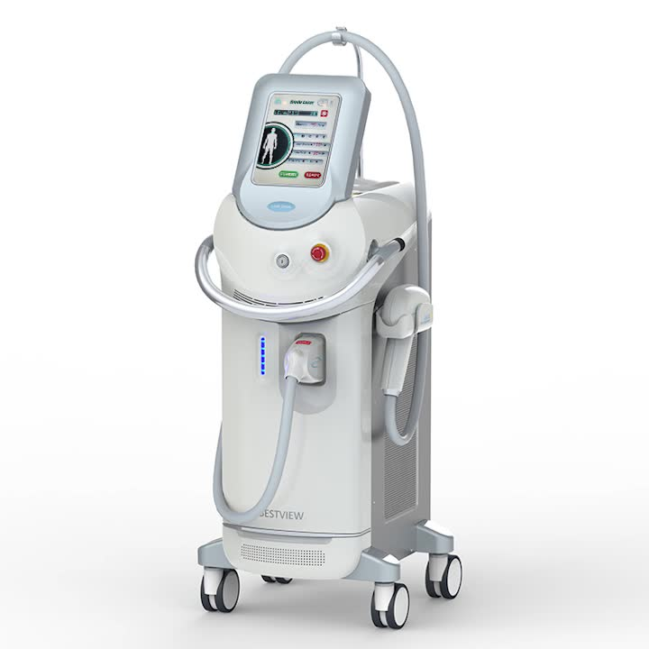 newest promotion price body face beauty machine painless permanent 808nm diode laser hair removal