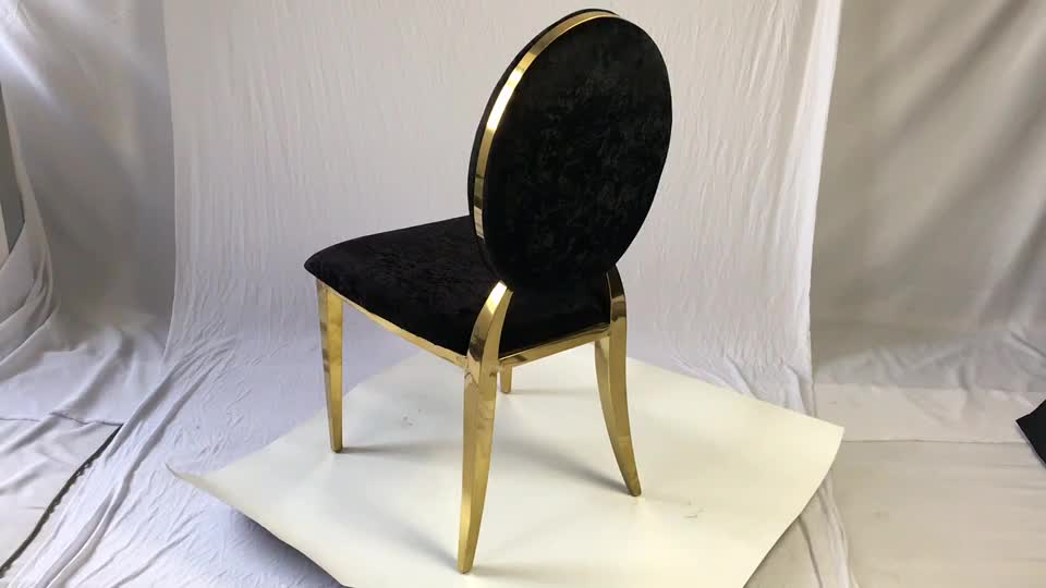 ZY01630  Stainless steel chair Stainless Steel Events Gold Wedding Chair