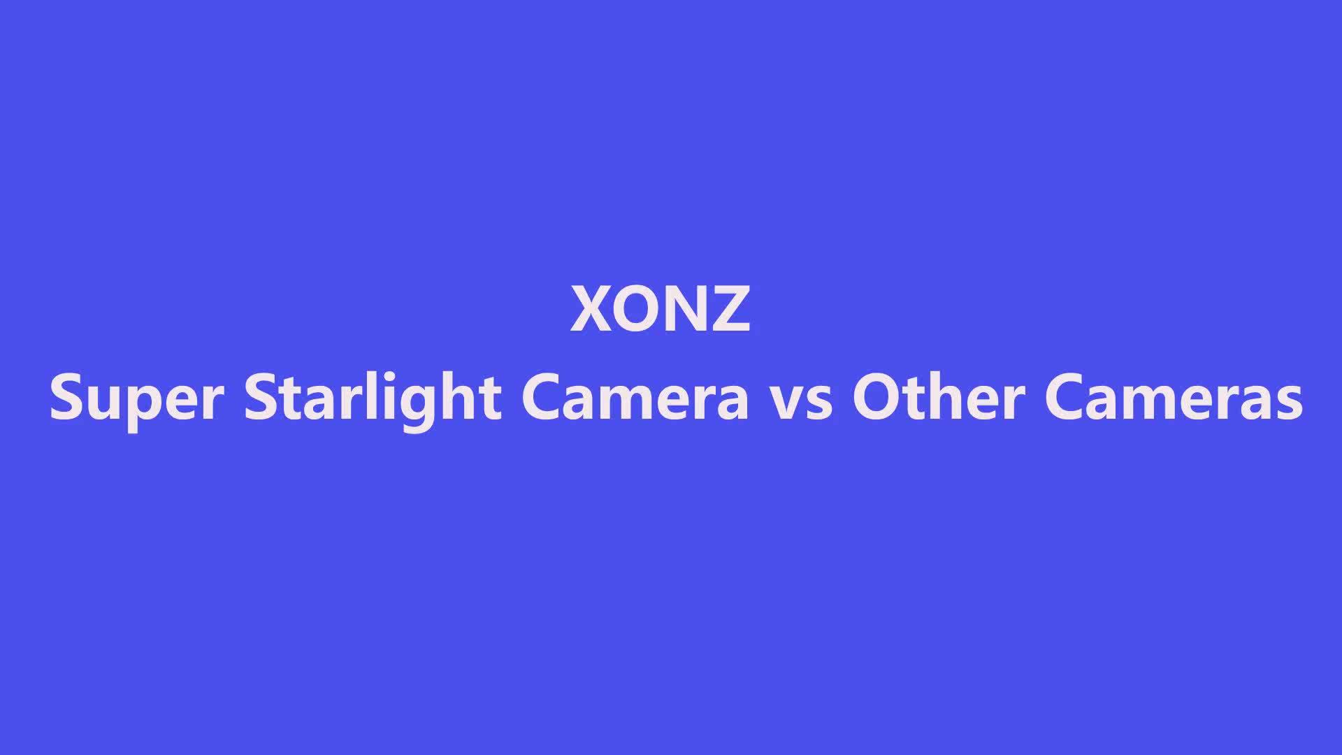 Powerful 2 mega pixel  full color Image starlight  CCTV  IP camera