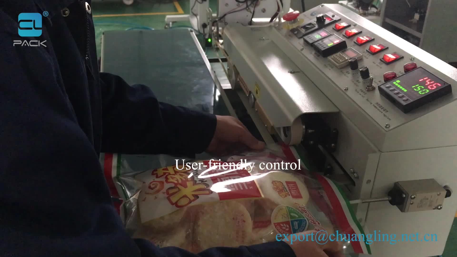 FRKS-1100WD Automatic Nitrogen Filling And Bag Heat Sealer Sealing Machine CLPACK