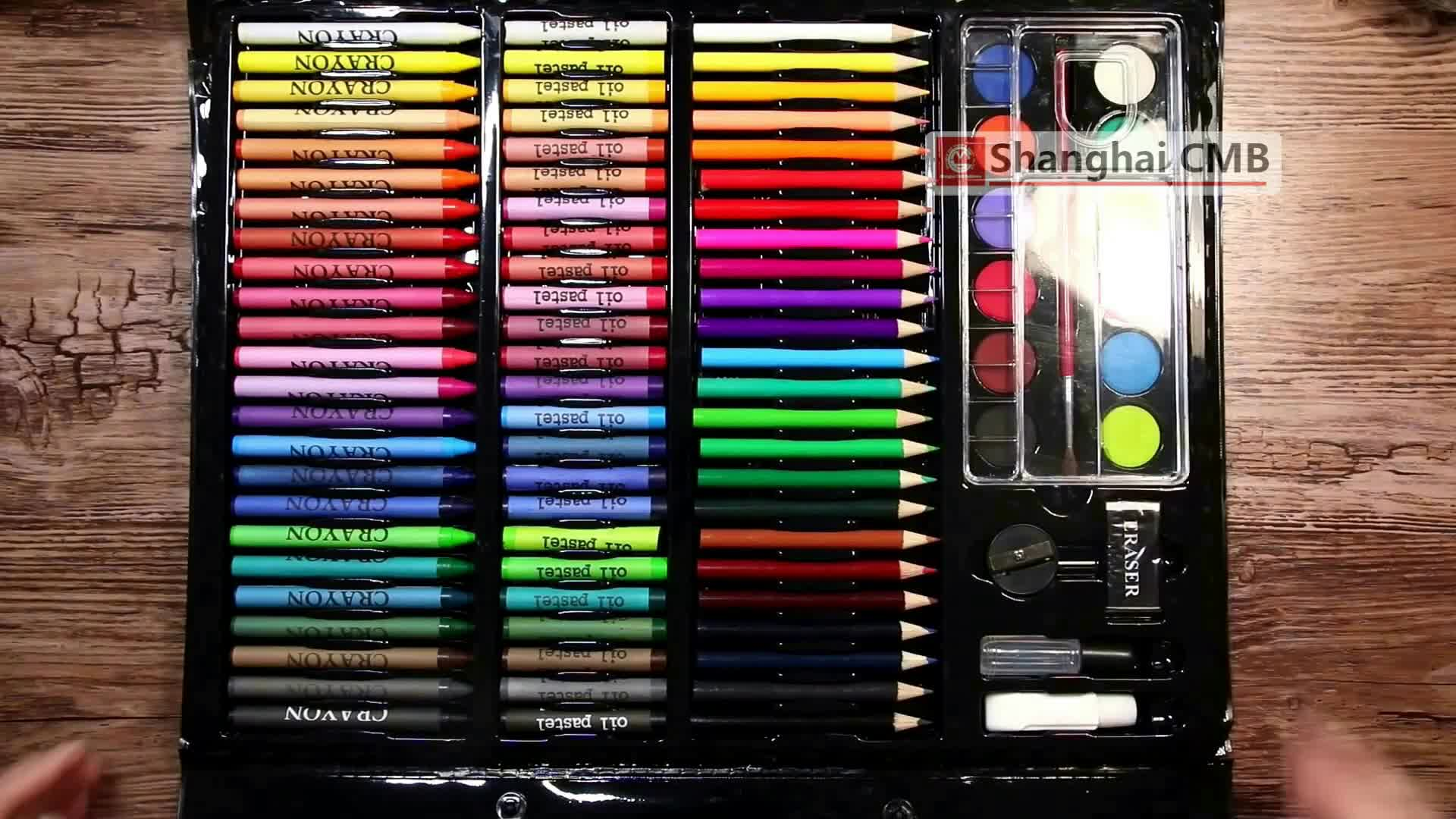 COLOR CRAYON SET WITH COLORING BOOK