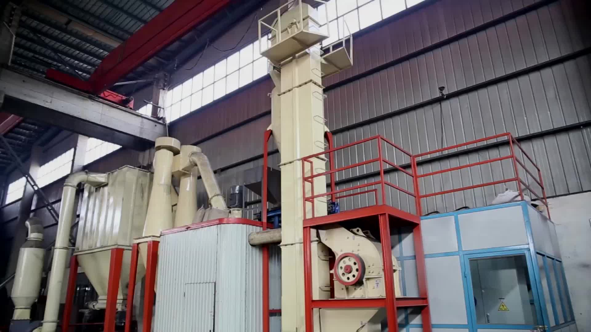 Mining Ore Processing Machines Gypsum Powder Production Line