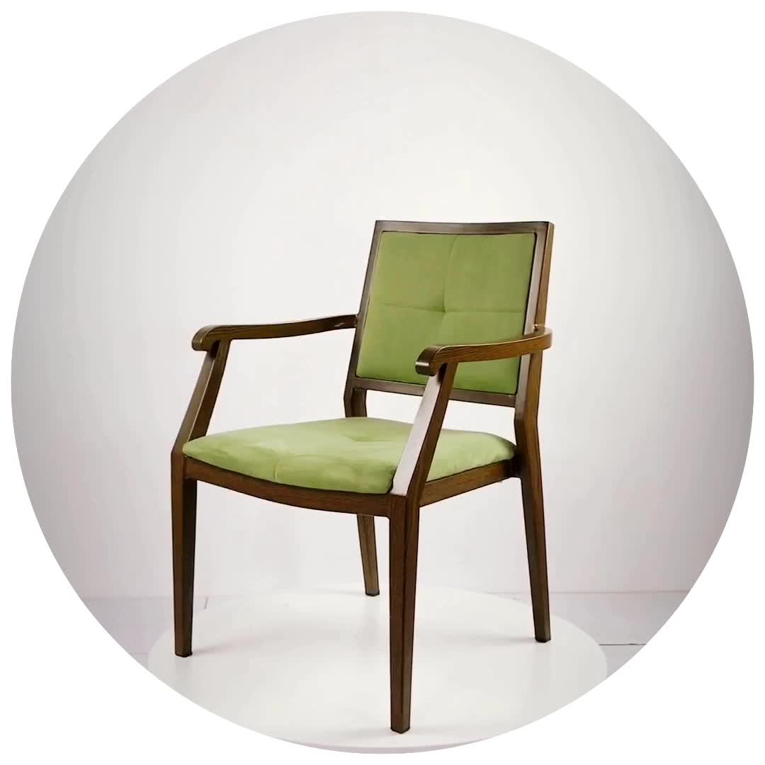 Fabbrica di produzione di progettisti hanno utilizzato impilabile moderna di lusso del metallo sedie ristorante con venature del legno