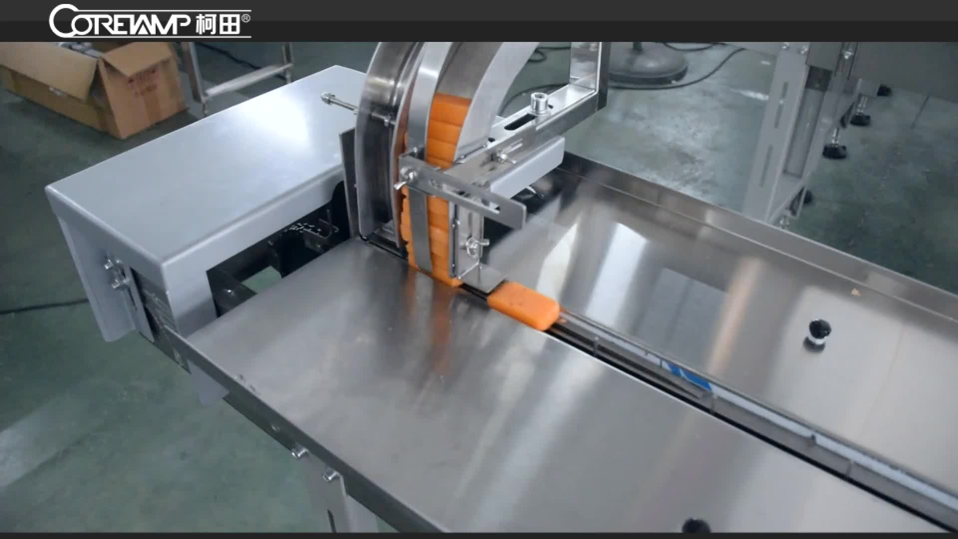 VT-160 New version Automatic Flow Candy/Chocolate/energy/granola/protein Bars Packing machine