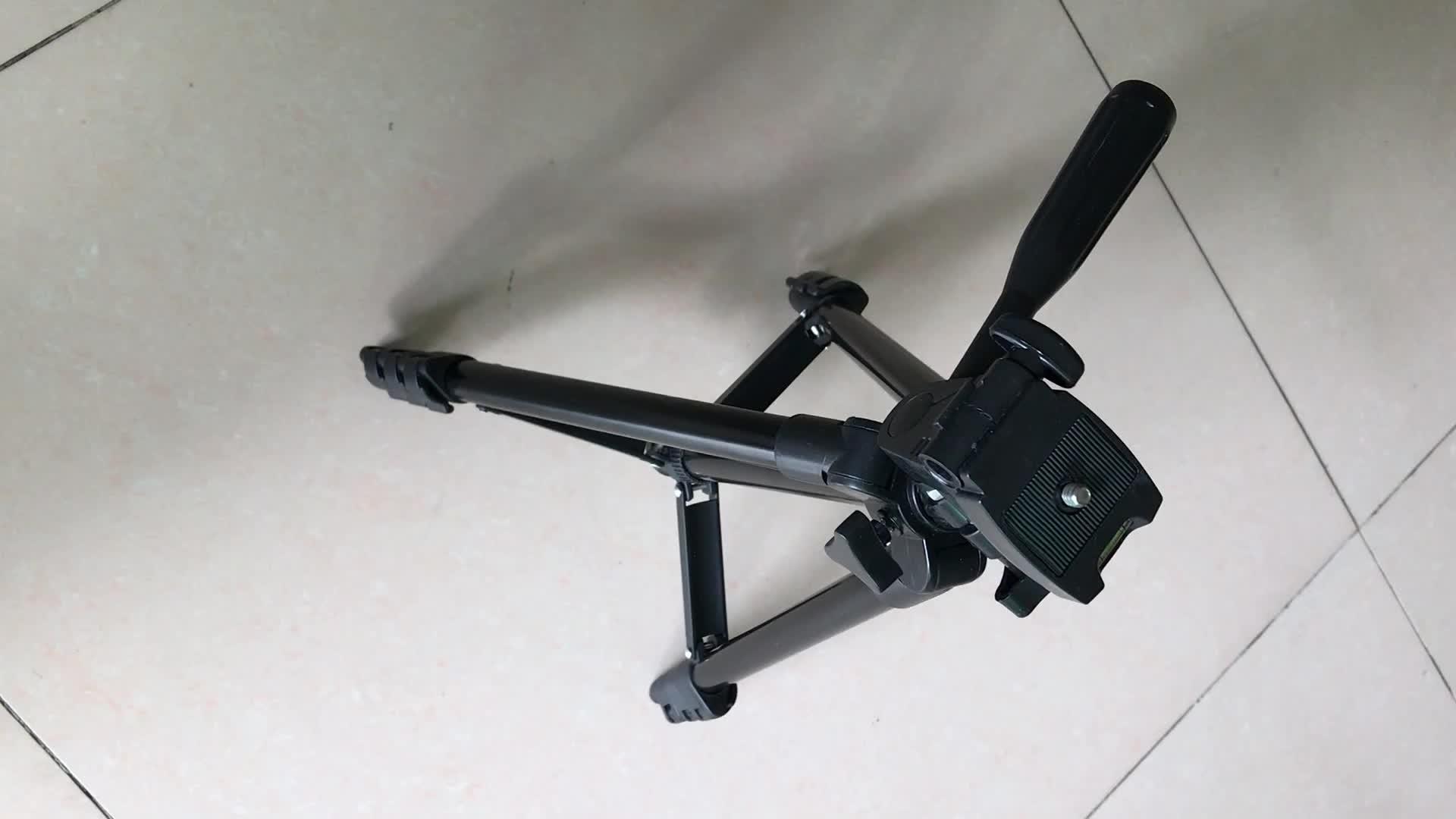 1/4 schroef interface camera statief, aluminium statief 35-106 cm Met balhoofd