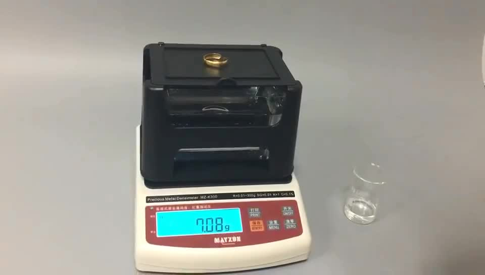 gold measuring machine jewelry weighing scale gold tester purity detector