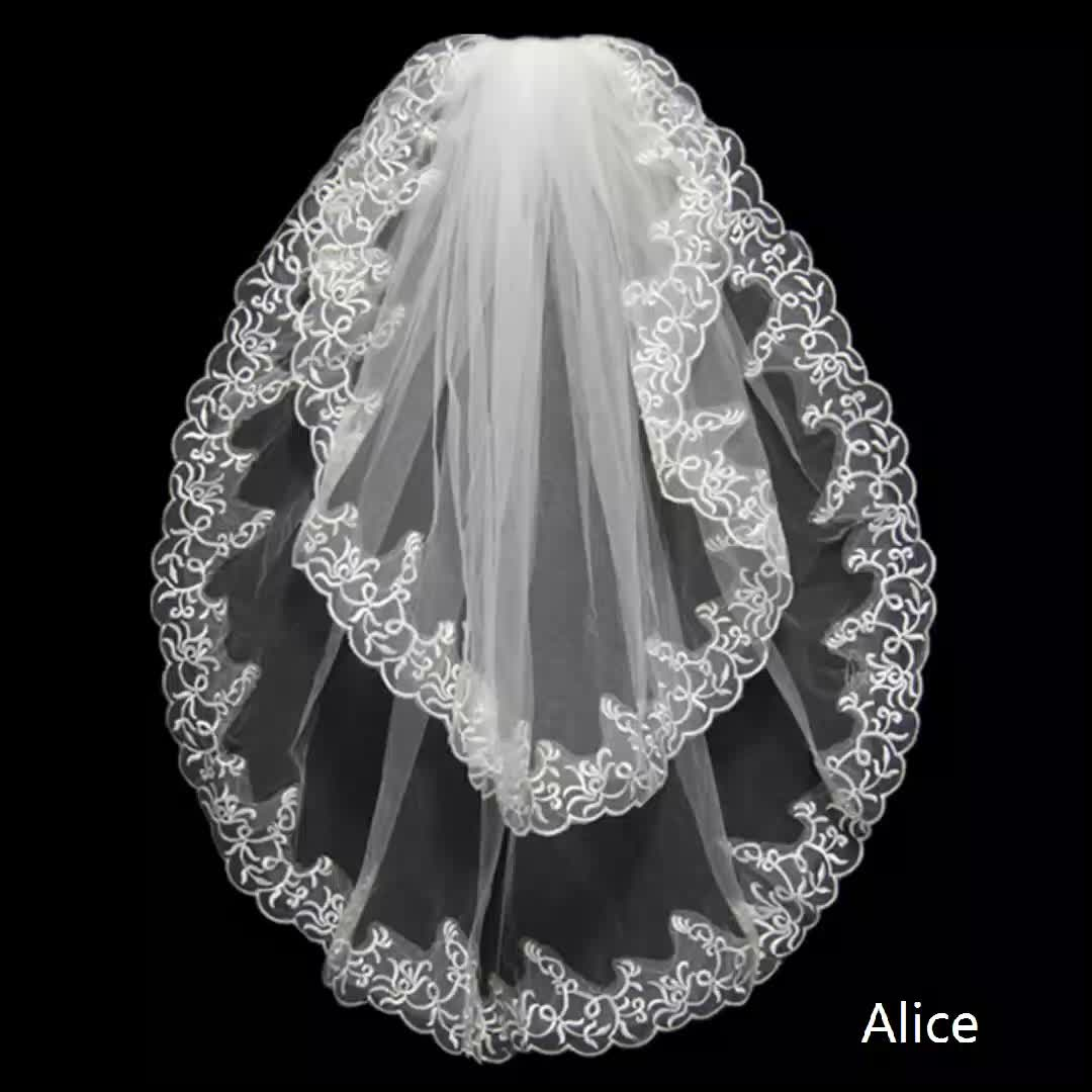 best sales good for all kinds of wedding gown short fashion wedding Veil