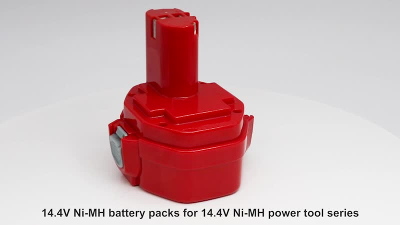 14.4V 2500mah Ni-MH Battery for Cordless Power Tools 1050D, 1050DWD, 5093D, 5093DWD, DA, ML, UB, UC, VR Series