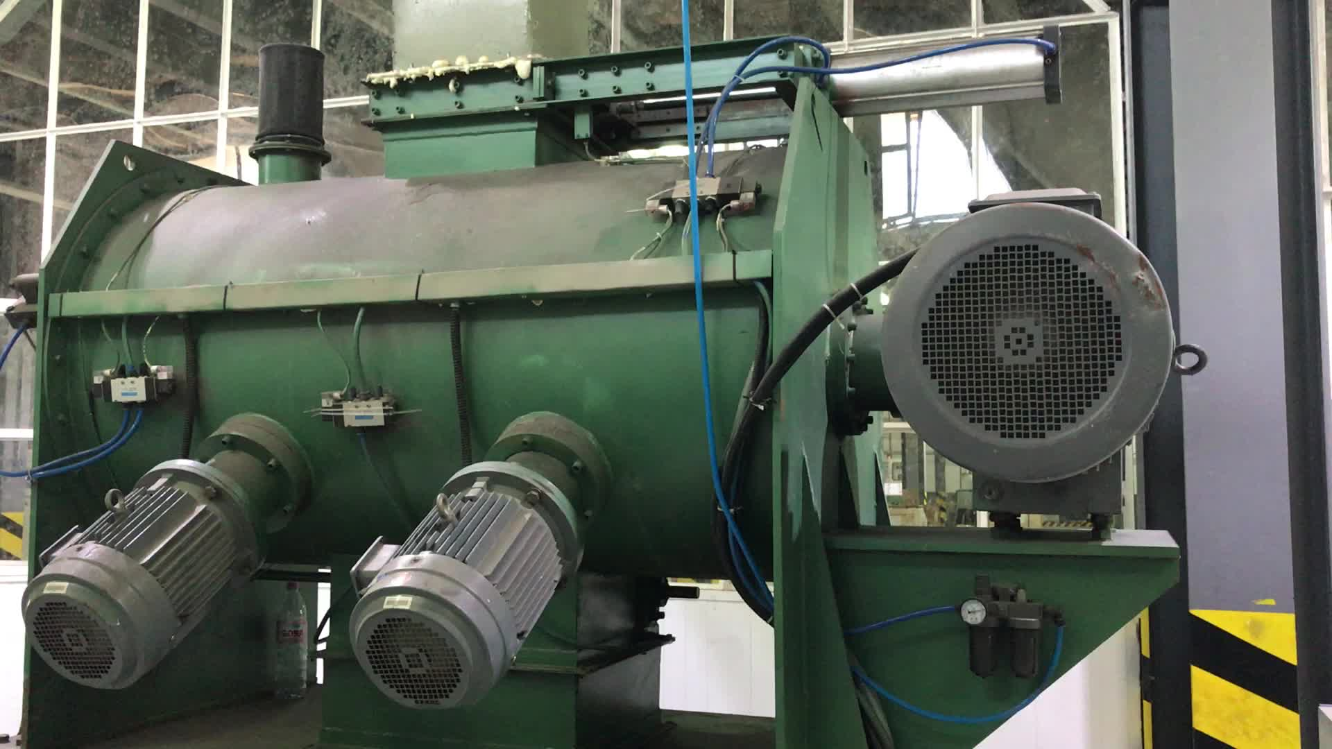 Brake Pad Lining Production Machine For Raw Material Mixing