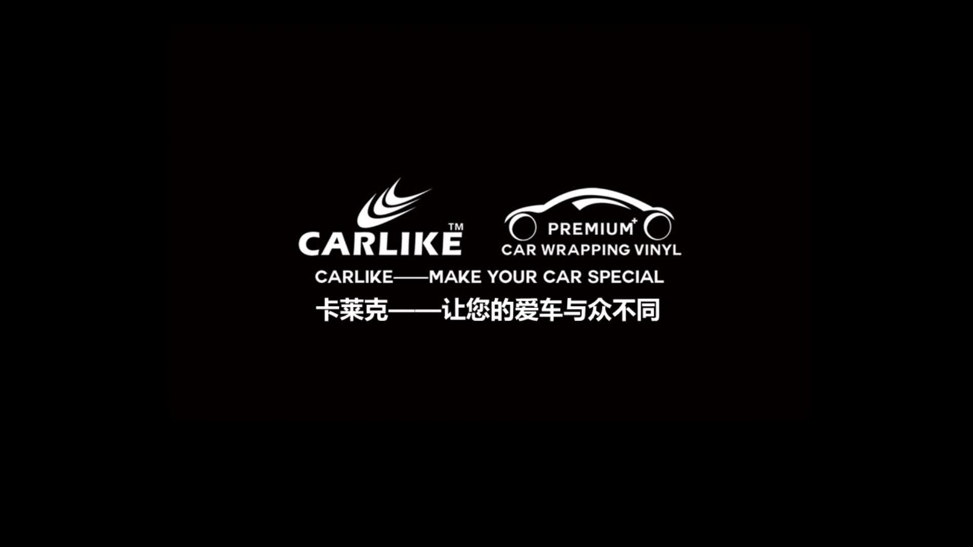 CARLIKE Wholesale PVC Material Chrome Mirror Car Wrap Vinyl Foil