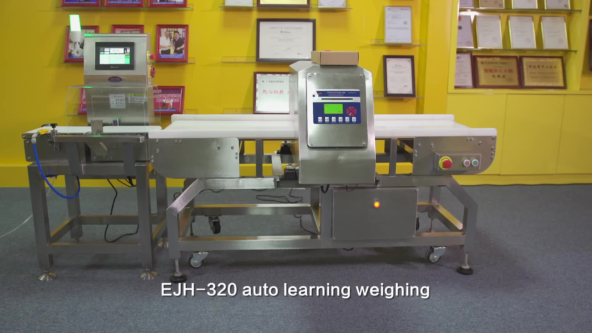 High-quality automatic conveyor online detection weighing machine